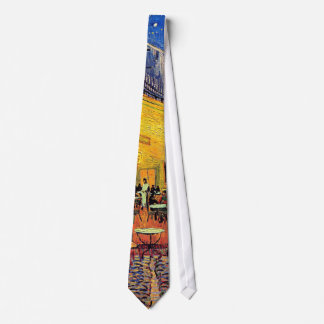 Cravates Vincent van Gogh - terrasse de café aux beaux-arts