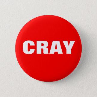 Cray en rouge et blanc pin's