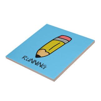 Crayon de bande dessinée carreau