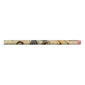Crayon de noeud de Leche d'escroquerie de café