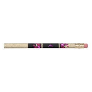 Crayon fuchsia de roses de diadème de rodéo de