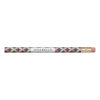 Crayon Motif géométrique coloré d'amusement