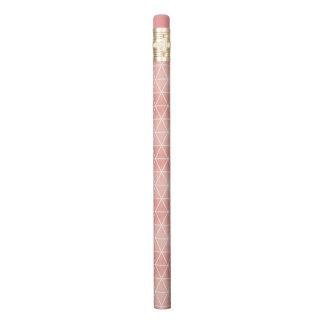 Crayon Motif rose de Traingle de feuille d'or de Faux
