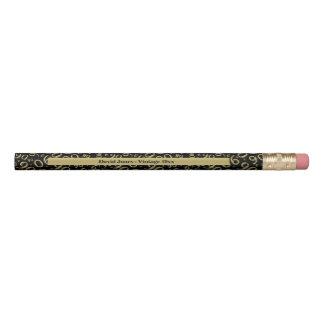 Crayon Personnalisez le quatre-vingt-dixième or/cadeau