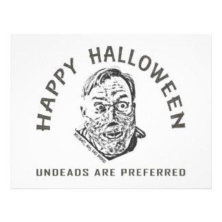 Crazy zombie - Halloween Prospectus