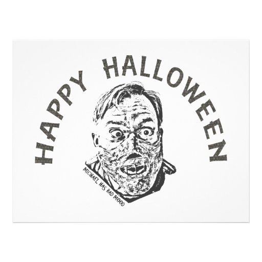 Crazy zombie - Halloween Prospectus Avec Motif