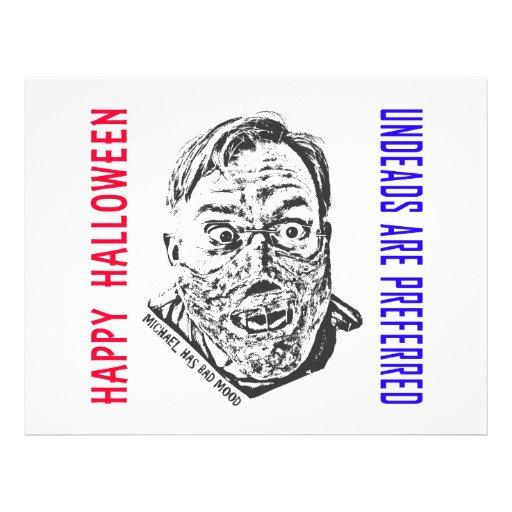 Crazy zombie - Halloween Prospectus En Couleur