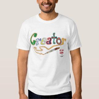 Créateur de ma vie t-shirts