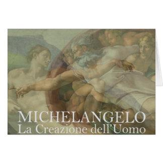 Création de genèse de Michaël Angelo de carte de
