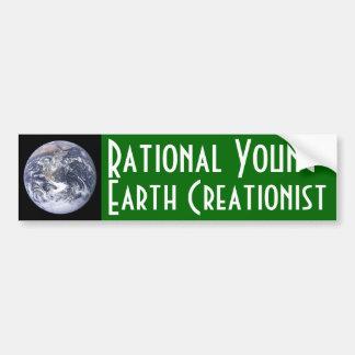 Creationist rationnel de la Jeune-Terre Autocollant Pour Voiture