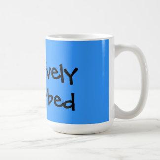 Créativement perturbé tasse à café