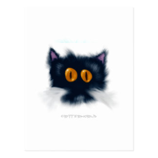 Créature de chaton carte postale