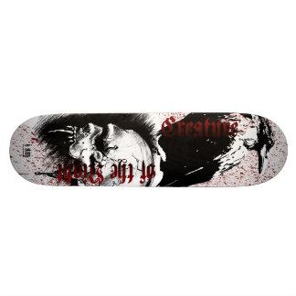 Créature de Decks™ d'os de la nuit Plateaux De Skateboards Customisés
