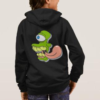 Créature effrayante de cyclopes d'horreur veste à capuche