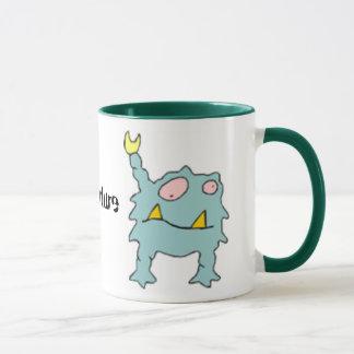 Créature étrangère de mutant mug