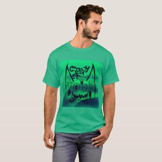 CreepyScissors-monstre dans l'eau verte T-shirt