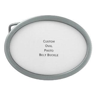 Créez la boucle de ceinture ovale fraîche élégante
