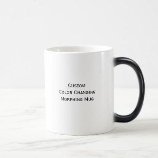 Créez la couleur faite sur commande changeant la mug magic