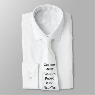 Créez le cravate large de photo de la mode des