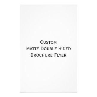 Créez le double insecte dégrossi mat fait sur prospectus 14 cm x 21,6 cm