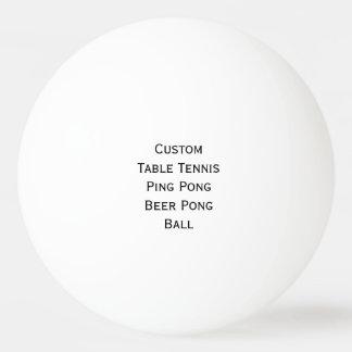 Créez le ping-pong fait sur commande/bière/boule balle tennis de table
