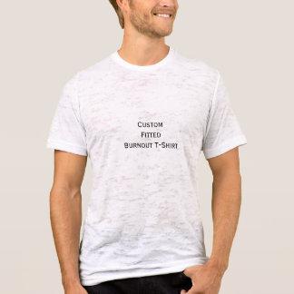 Créez le T-shirt adapté par burn-out fait sur
