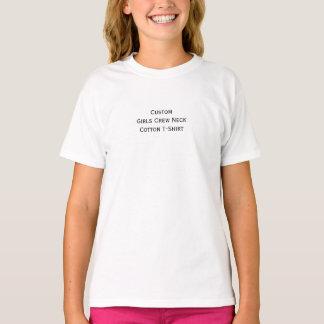 Créez le T-shirt fait sur commande de coton