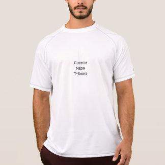 Créez le T-shirt sec de maille de double fait sur