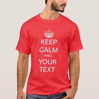 Créez/personnaliser vos que propres gardent la t-shirt