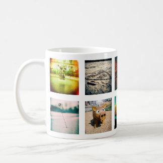 Créez un instagram unique et original mug blanc