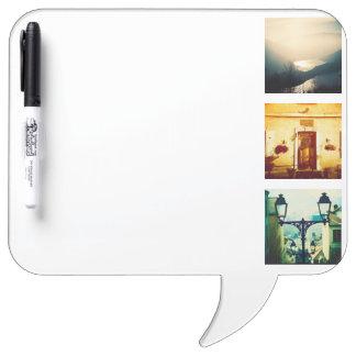 Créez un instagram unique et original tableau blanc effaçable à sec