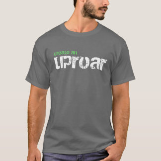 créez un tumulte, T-shirt de corps de paix de