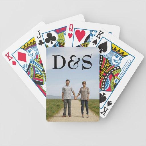 Créez vos propres cartes de jeu de photo de jeux de 52 cartes