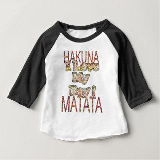 Créez vos propres couleurs Hakunamatata de cru de T-shirt Pour Bébé