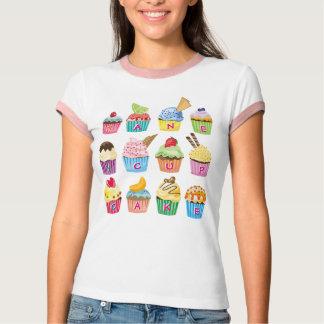 Créez vos propres festins délicieux de monogramme t-shirt