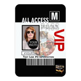 Créez vos propres manières du passage 8 de VIP de Carton D'invitation 8,89 Cm X 12,70 Cm