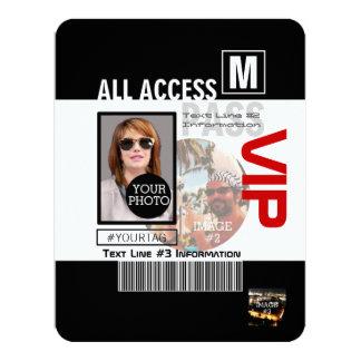 Créez vos propres manières du passage 8 de VIP de Carton D'invitation 10,79 Cm X 13,97 Cm