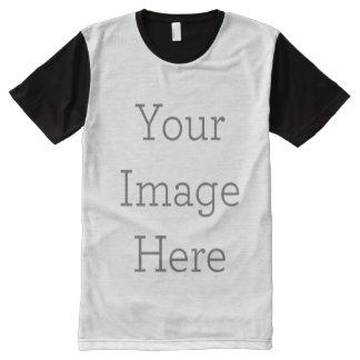 Créez vos propres partout T-shirt imprimé de