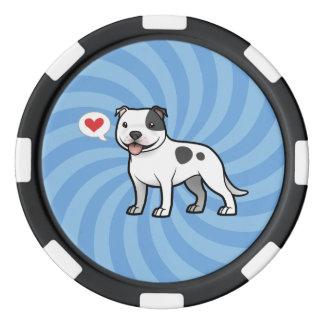 Créez votre propre animal familier rouleau de jetons de poker