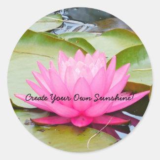 Créez votre propre autocollant de soleil