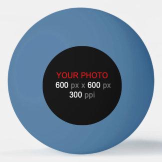 Créez votre propre boule de ping-pong bleue balle tennis de table