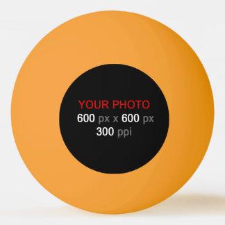 Créez votre propre boule de ping-pong de jaune balle tennis de table