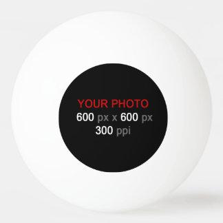 Créez votre propre boule de ping-pong faite sur balle de ping pong