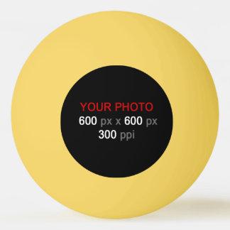 Créez votre propre boule de ping-pong jaune balle de ping pong