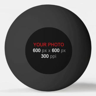 Créez votre propre boule de ping-pong noire balle tennis de table