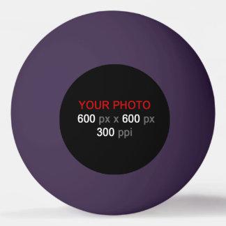 Créez votre propre boule de ping-pong pourpre balle de ping pong