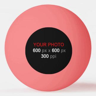 Créez votre propre boule de ping-pong rose balle tennis de table