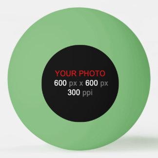 Créez votre propre boule de ping-pong verte balle de ping pong