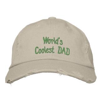 Créez votre propre casquette détruit par base-ball casquette brodée