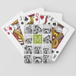 Créez votre propre chaux de collage de photo jeu de cartes